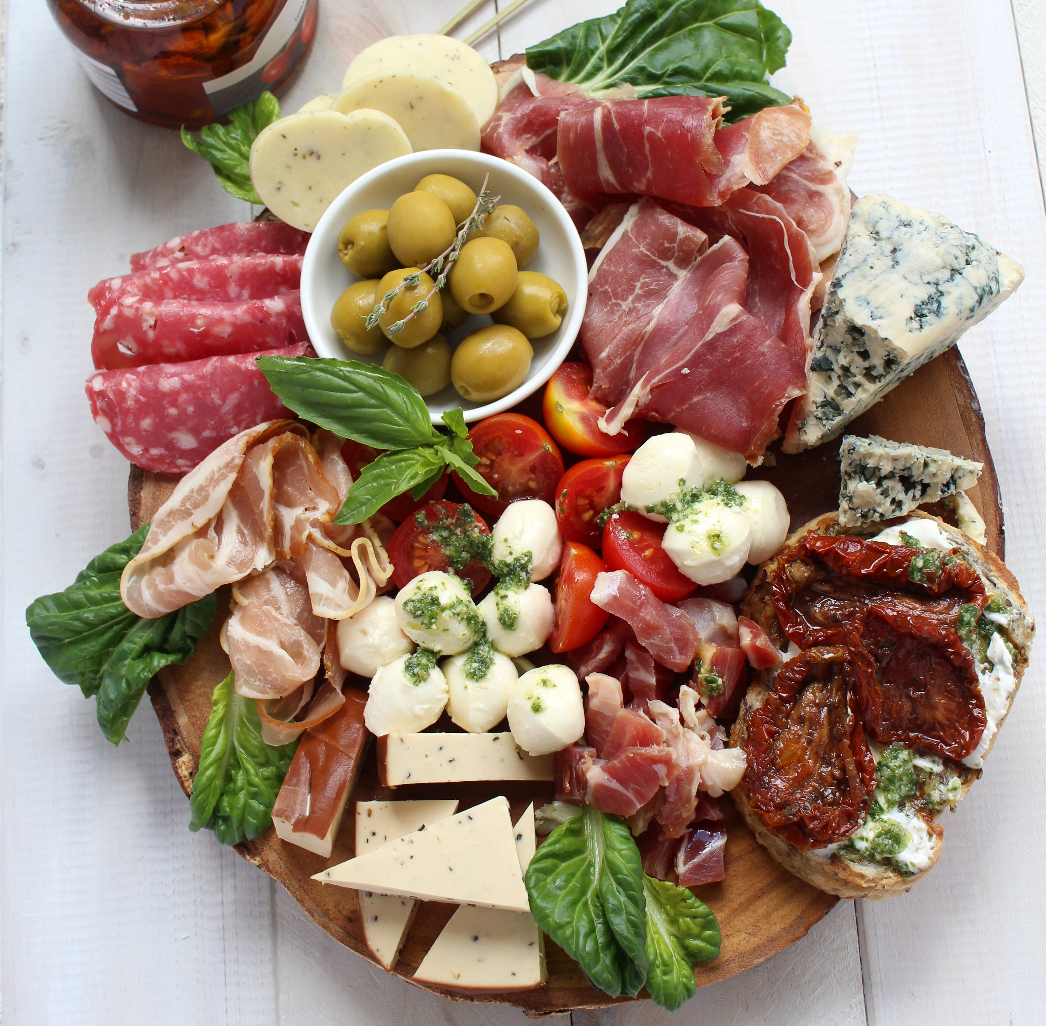 how to make cold antipasto platter